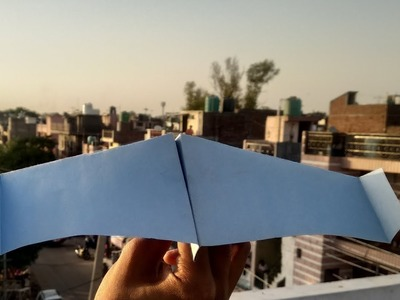 DIY PAPER CRAFT - How To Make Bionic Paper Plane | Origami Paper Craft