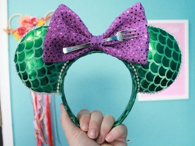 EASY NO SEW MICKEY EARS AND BOW!