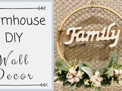 FARMHOUSE DIY | FARMHOUSE DIY DECOR | FARMHOUSE LIVING ROOM DECOR | DIY PROJECT