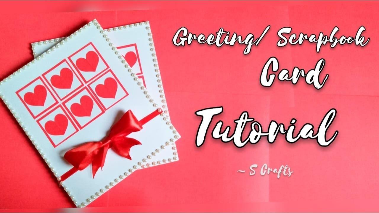 Gift Card Tutorial | Handmade | Scrapbook card tutorial | S Crafts | Easy step by step tutorial