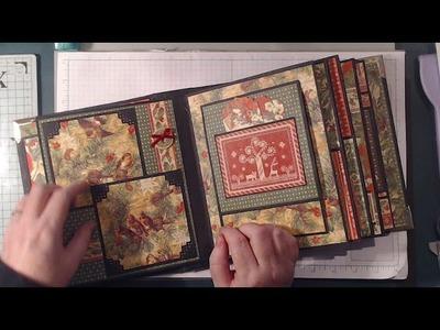Graphic 45 Winter Wonderland Mini Album