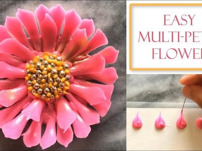 How to make a Chocolate Flower | Simple & Easy Petals