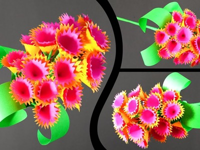 How to Make A Sticky Gift Flower   Easy Flowers Making   Handmade Gift Ideas : DIY Paper Crafts