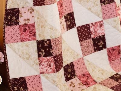 How to Make the Four Square Precut Kit | A Shabby Fabrics Tutorial