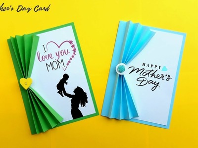 Last Minute Mothers Day Card | Fast and Easy Greeting Card | DIY