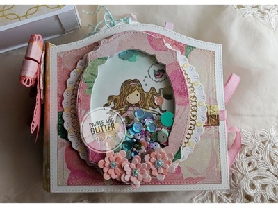 Mini Album and Matching Box using Maggie Holmes, Dies by Nicole, and Cameo!