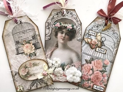 Shabby chic tags and crafty chat.