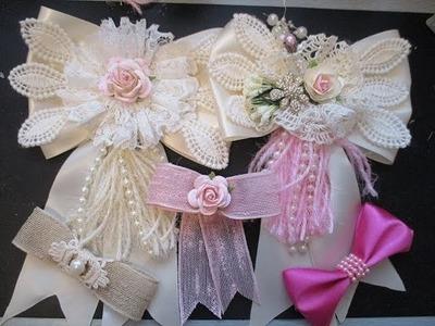 Shabby-Chic Wedding Bow Tutorial - jennings644