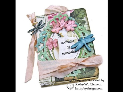 Stamperia Spring Botanic Eileen Hull Treasure Box with Notebook Insert Tutorial