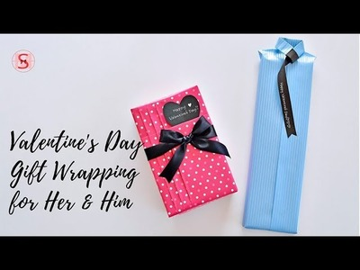 Valentine's Day Gift Wrapping for Her and Him