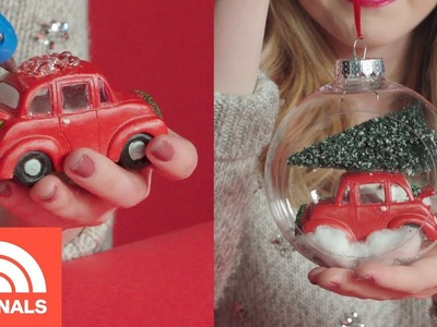 3 DIY Christmas Ornaments Under $20 | Change For $20 | TODAY ORIGINALS