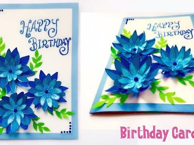 3D Flower Birthday Card - Easy DIY