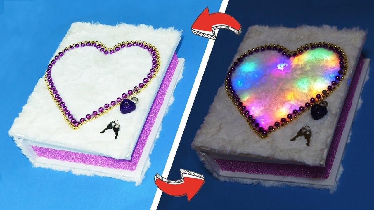 Amazing crafts for girls - How to make secret box | DIY secret box