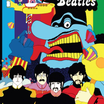CRAFTS Beatles Yellow Submarine Cross Stitch Pattern***LOOK***