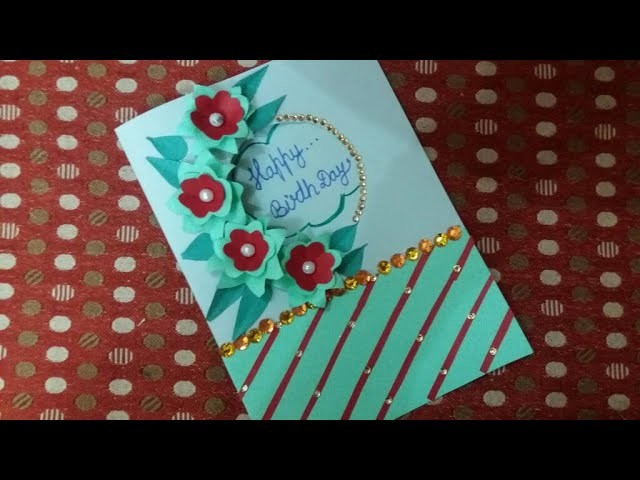 Beautiful Handmade Birthday Cards