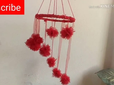 Beautiful wall hanging with oldDuppata || decoration idea|| DIY- craft idea