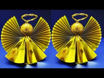 Christmas Angel Ornaments | DIY Christmas Ornaments for Home, Tree Decorations