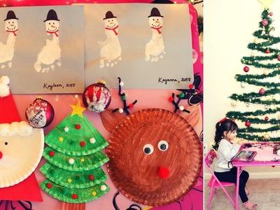 Christmas DIY Art & Crafts for Toddler.Preschooler   Kids Christmas Crafts   Mytwolittlesunshines