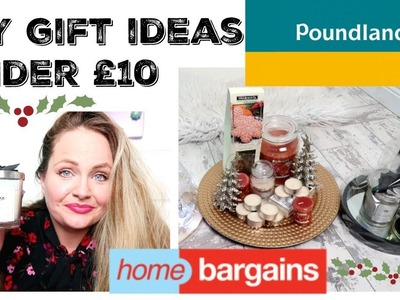 CHRISTMAS HOME BARGAINS. POUNDLAND HAUL. DIY GIFT IDEAS UNDER £10. Budget hampers, cheap presents