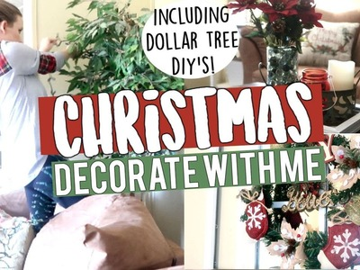 DECORATE WITH ME FOR CHRISTMAS | EASY CHRISTMAS DECOR DIY'S