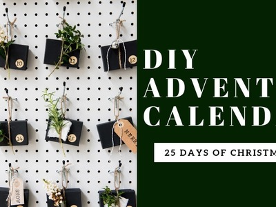 DIY Advent Calendar Pegboard | Day FIVE | 25 Days of Christmas Countdown