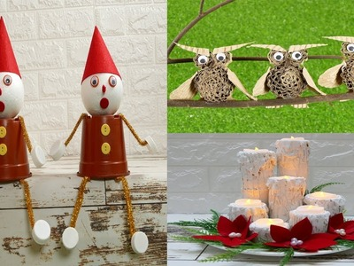 DIY Christmas Decor! Easy Fast DIY Christmas & Winter Ideas for Teenagers. part2
