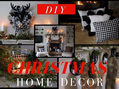 DIY Christmas Home Decor | EASY, CHEAP, COZY, & CLASSY