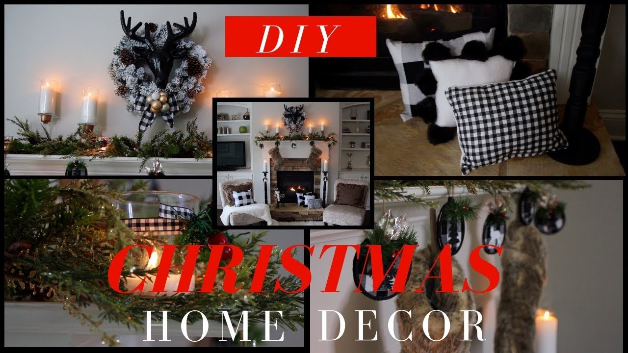 DIY Christmas Home Decor | EASY, CHEAP, COZY, & CLASSY