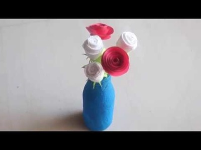 DIY - Diwali Bottle Decor | Home Decor | Diwali Decoration Ideas at Home
