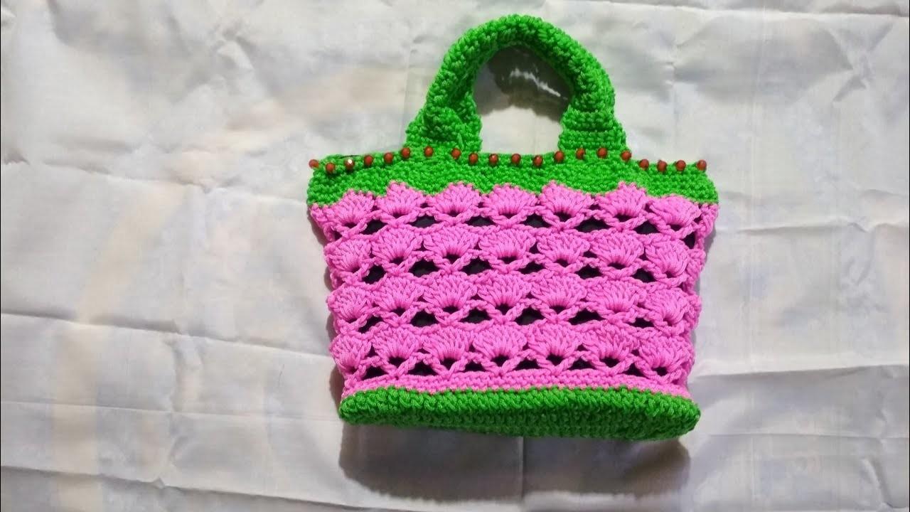 DIY easy macrame bag