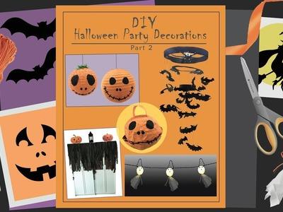 DIY Halloween Decoration Crafts - Easy & Fun
