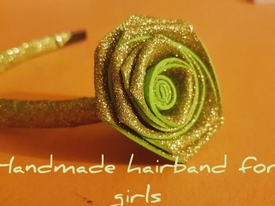 DIY Headband for Babies   How to make Flower Hair Band for Baby Girl at Home   DIY Headband Ideas