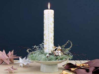 DIY : Homemade Christmas arrangement by Søstrene Grene