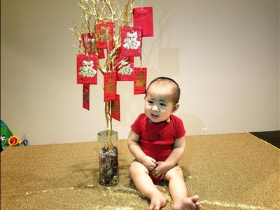 DIY money tree for Chinese New Year