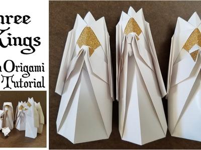 DIY Origami Christmas Nativity- The Three Kings
