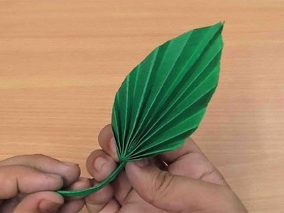 DIY PAPER LEAF   How to make simple & easy paper leaf