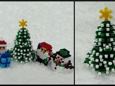 DIY   Part 2   Perler Beads 3D Christmas Tree   Decoration   3D Bügelperlen Weihnachtsbaum