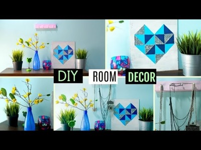 DIY Room Decor | 3 easy crafts at home | Easy and Inexpensive ideas