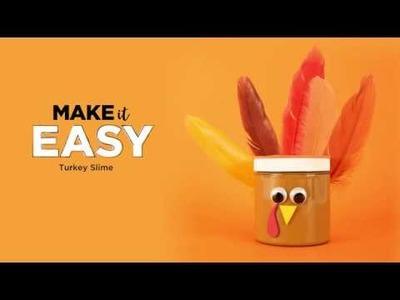 DIY Thanksgiving Slime | How to Make Turkey Slime | Michaels