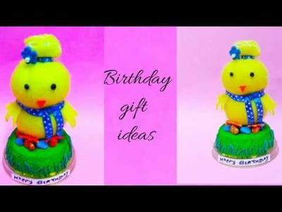 Express love with handmade gifts.cute gift ideas.tutorial.DIY.handmade birthday gift.clay craft.felt