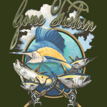 Gone Fishing Cross Stitch Pattern***LOOK***