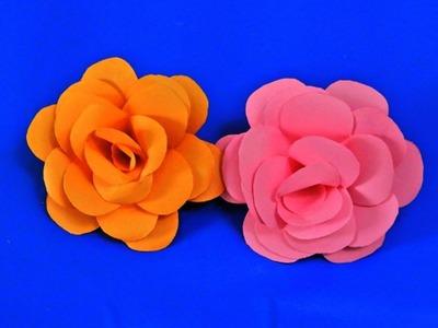 How to make Beutifull Paper Rose Easy DIY