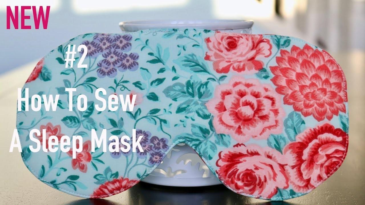 How To Sew A Sleep Mask. DIY by Viktoria Creates English Version, #2