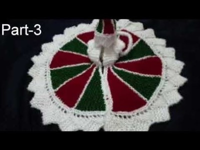 Part-3.4, DIY. Woolen Bal Gopal Dress. Poshak With Multi  colored Wool. How To. Easy Crafts
