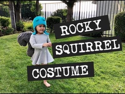 Rocket J  Rocky Squirrel DIY Costume