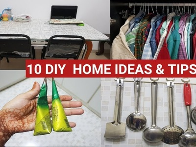 10  Home DIY Ideas And Tips IN TAMIL  #139