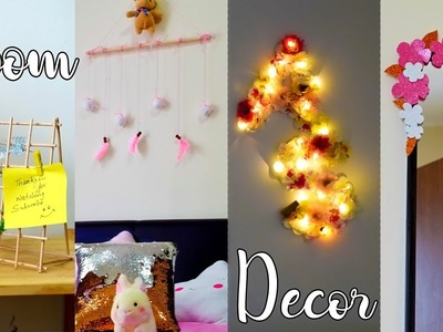 4 Awesome DIY ideas | Room decor without Nails| Mom Artistry