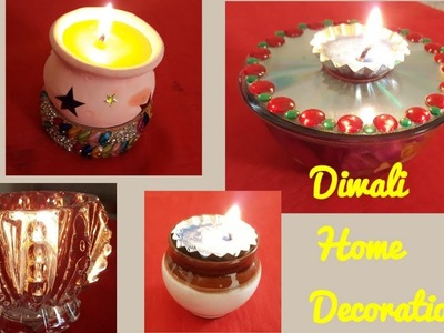 6 Easy & Quick Diwali Decoration Ideas For Home | DIY Diwali Decoration | Innovative Decoration Idea