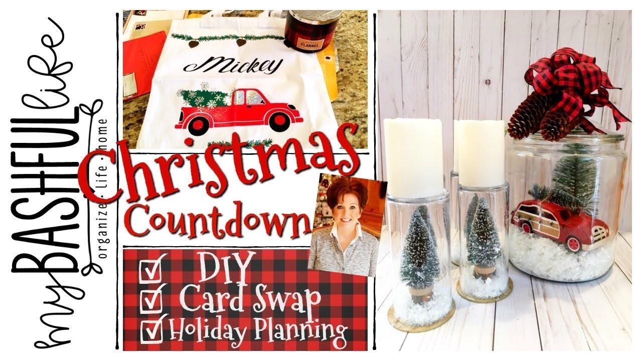 Christmas Countdown. Dollar Tree DIY. Card Swap. Prep