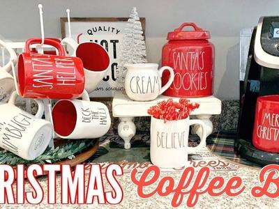 DIY CHRISTMAS COFFEE STATION 2018. HOT COCOA BAR IDEAS ????